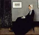 fig 16: Whistler, Arrangement in grey and black, nr. 1. Portrait of the mother of the artist