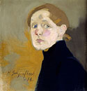 fig 17: Schjerfbeck, Self-Portrait