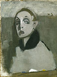 fig 21: Schjerfbeck, Self-Portrait with Palette I