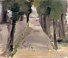 fig 28: Schjerfbeck, Park Alley