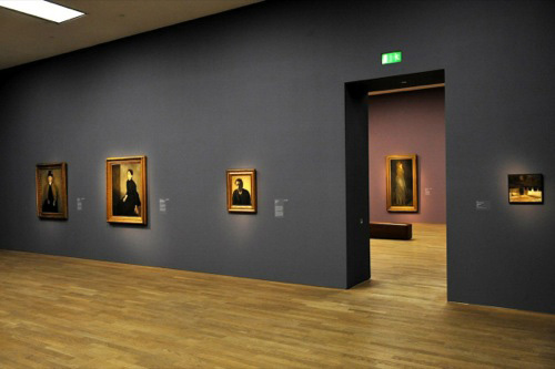Art Foyer Frankfurt : Van nimmen reviews hammershoi and europe