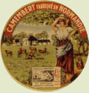 camembert cheese label